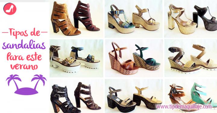 5 tipos de sandalias que no pueden faltarte