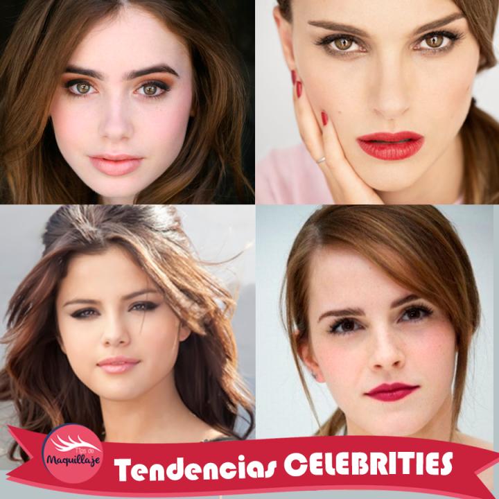 Tendencias de maquillaje CELEBRITIES primavera-verano 2015: ojos metálicos