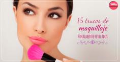 15 trucos de maquillaje finalmente revelados