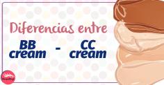 ¿Cuáles son las diferencias entre BB Y CC cream?