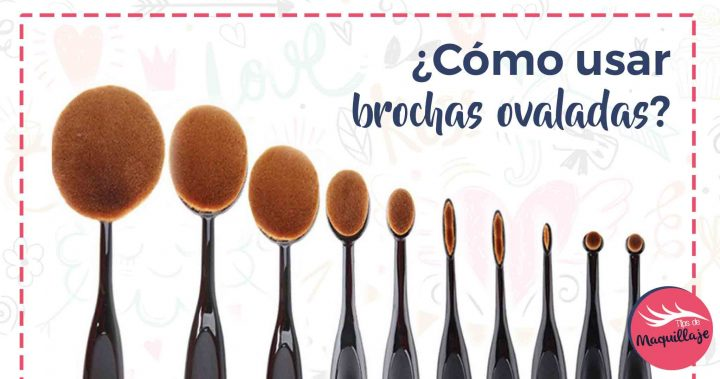 Brochas ovaladas «toothbrush»: cómo y para qué se usan